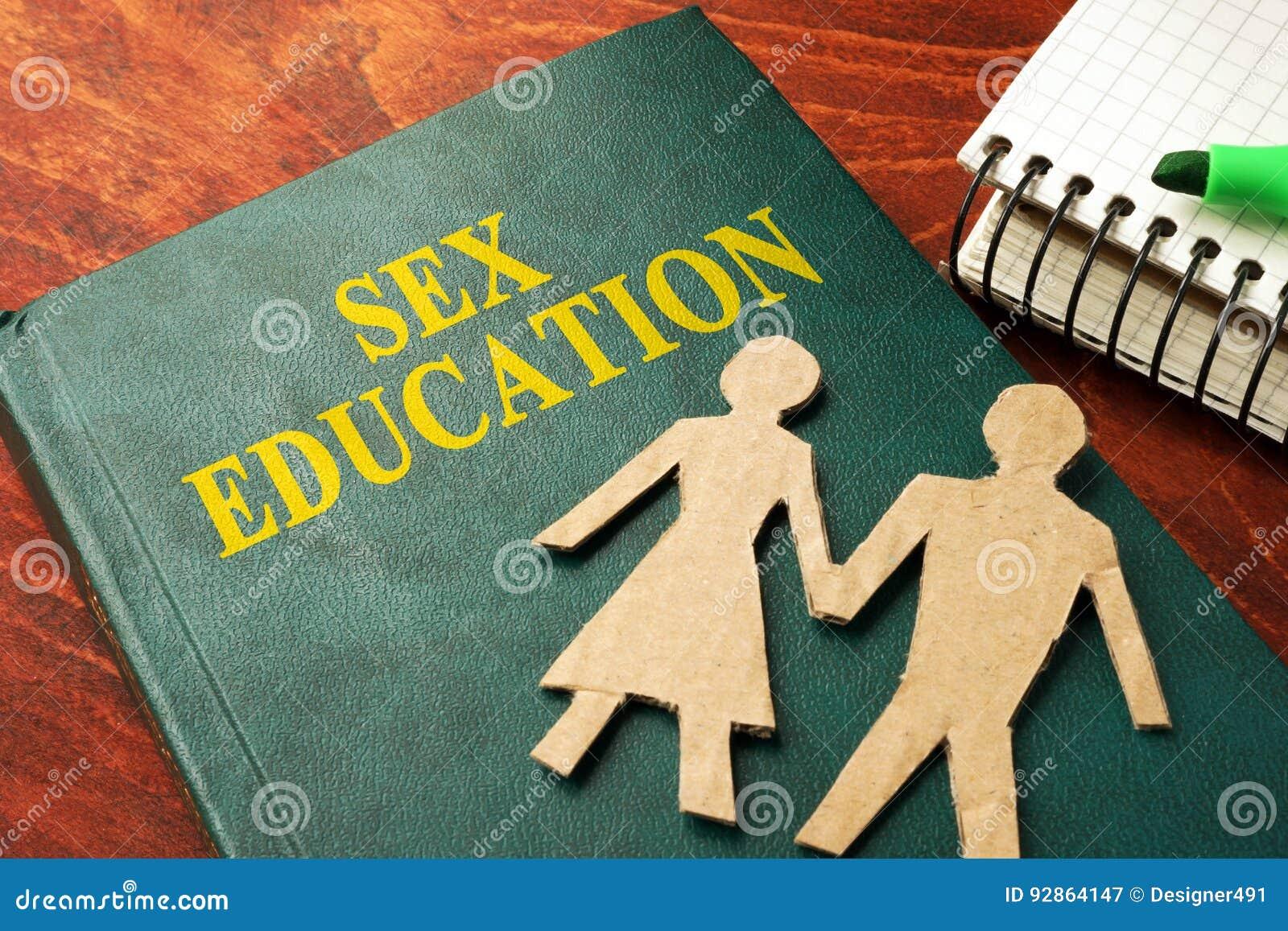 Livro com educação sexual do título