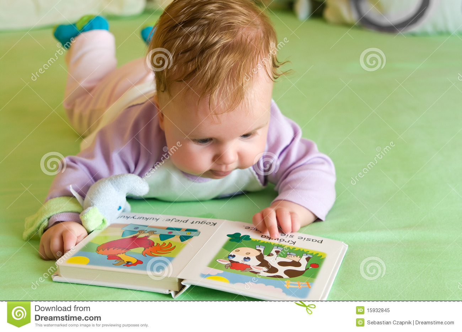 Livro de leitura do bebé