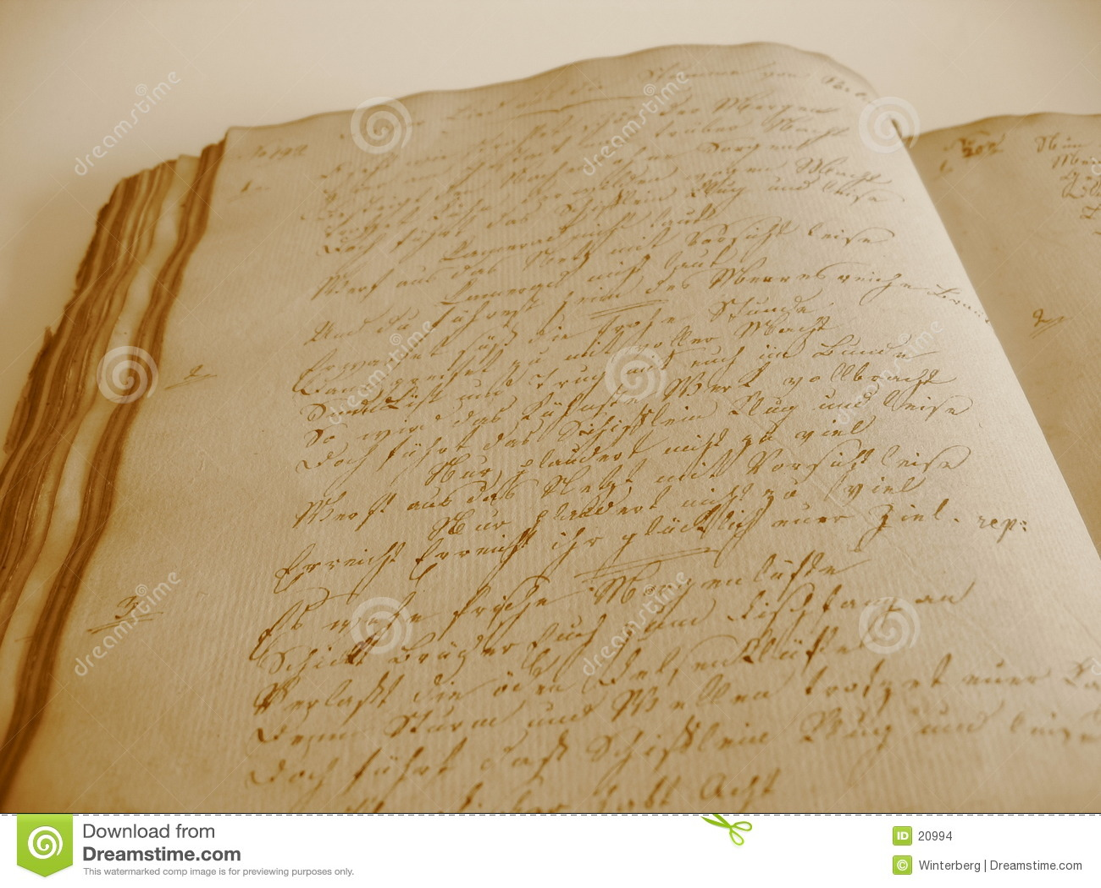Livro escrito à mão II
