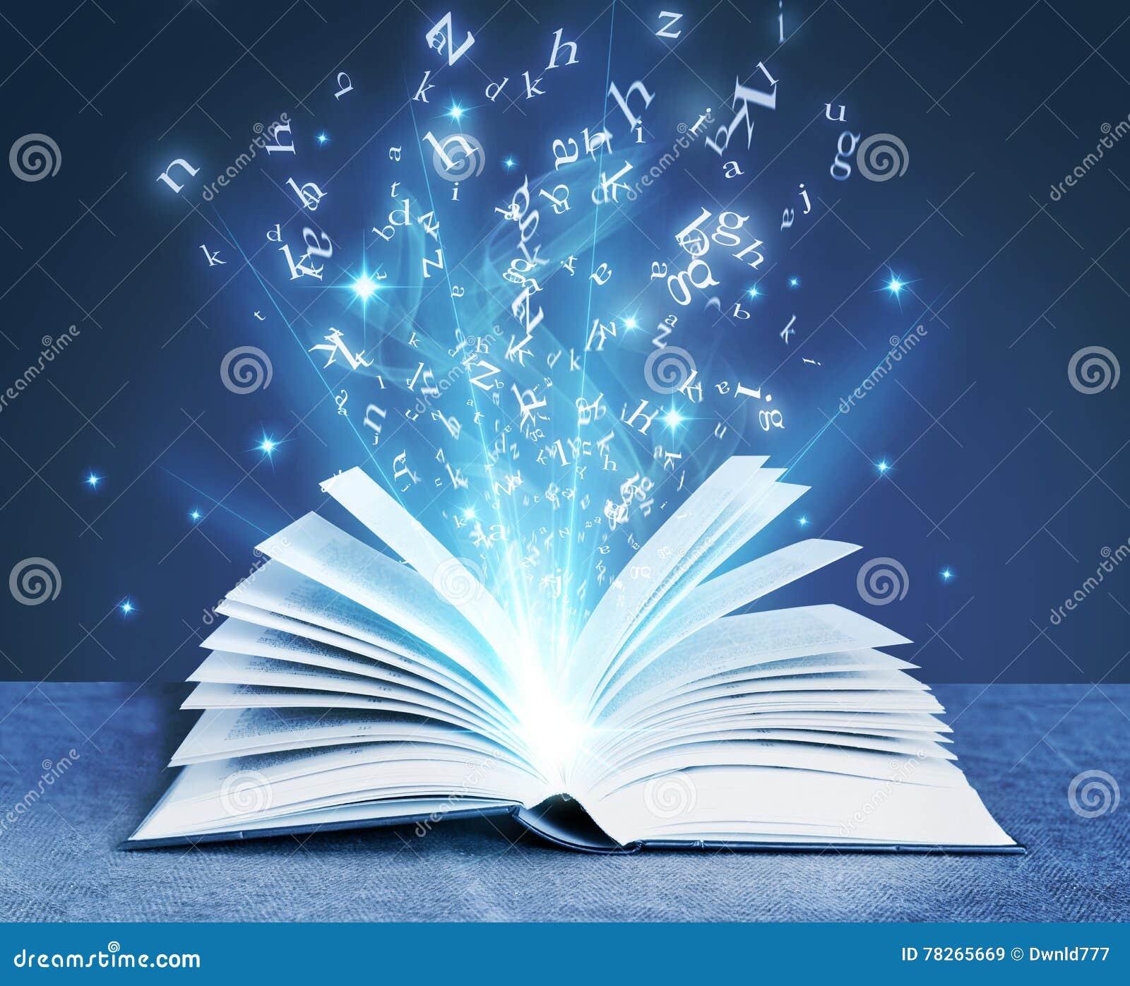 Livro mágico azul