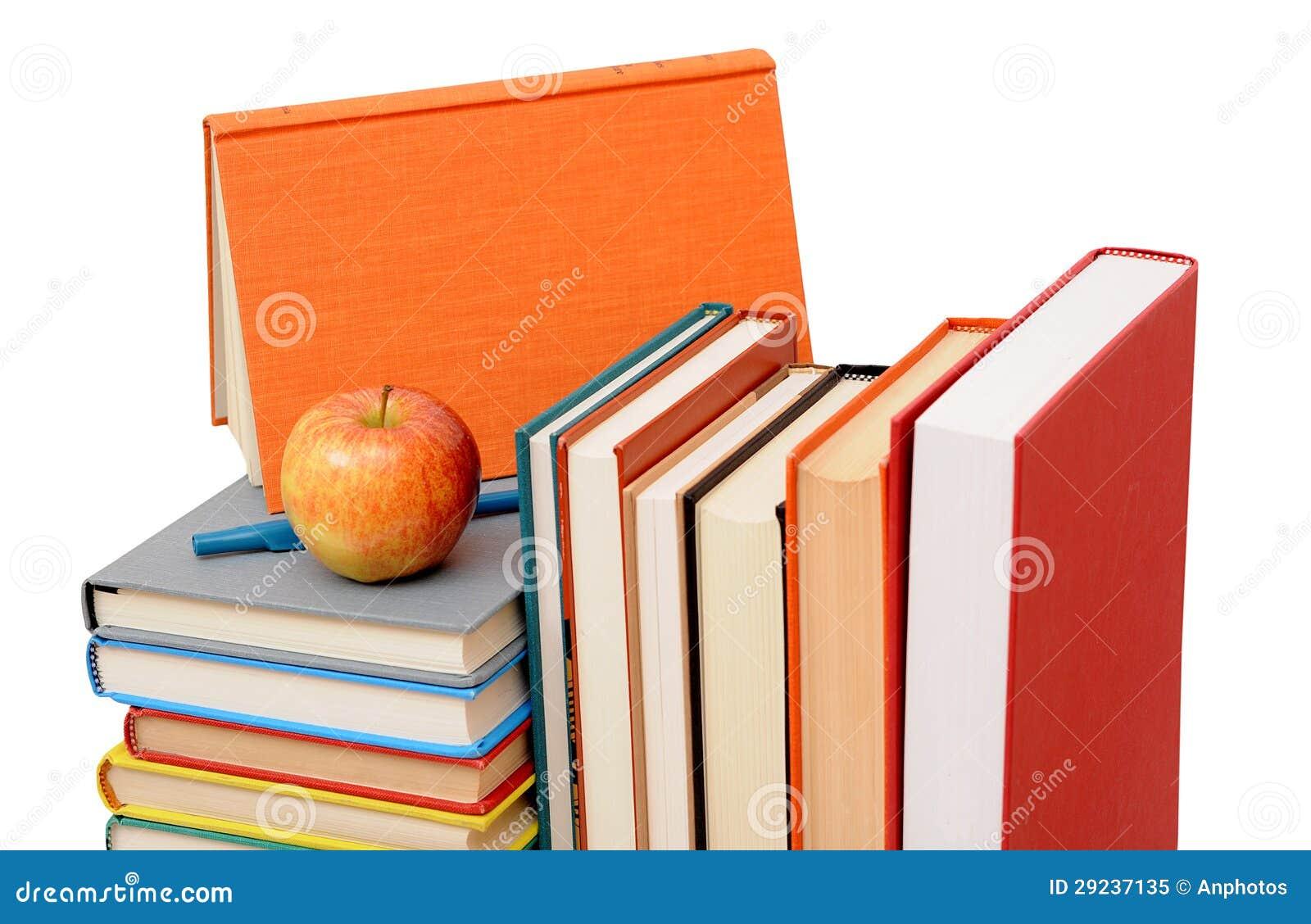 Download Livros coloridos imagem de stock. Imagem de saudável - 29237135