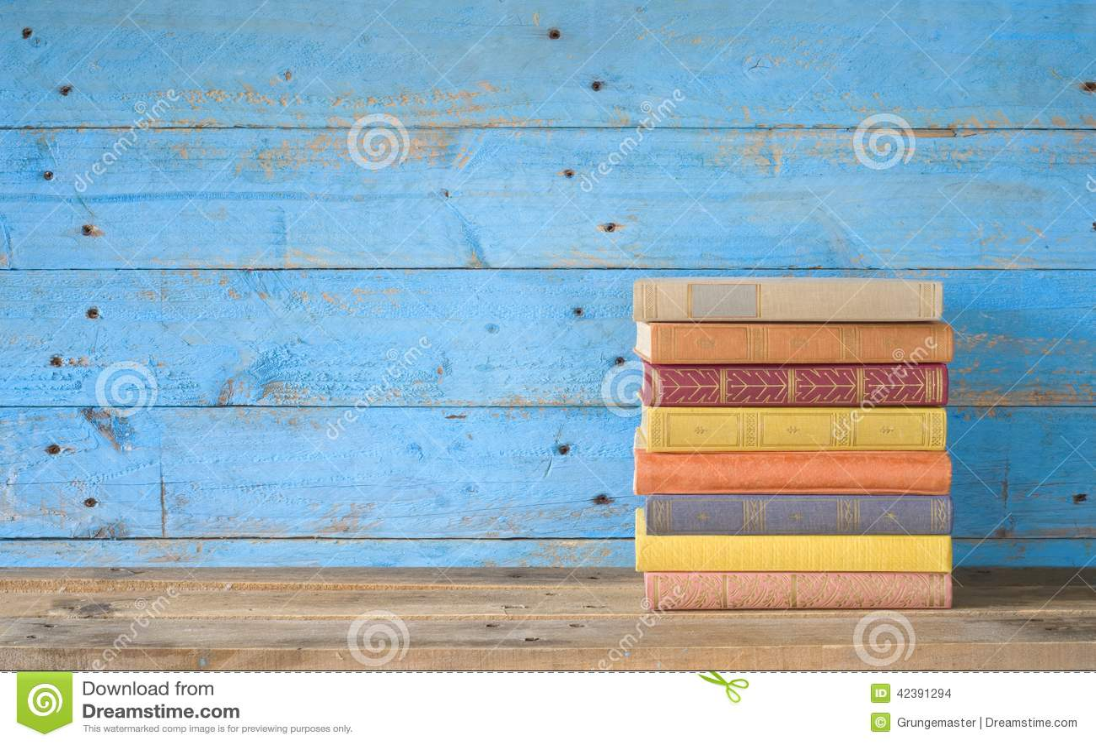 Livros coloridos