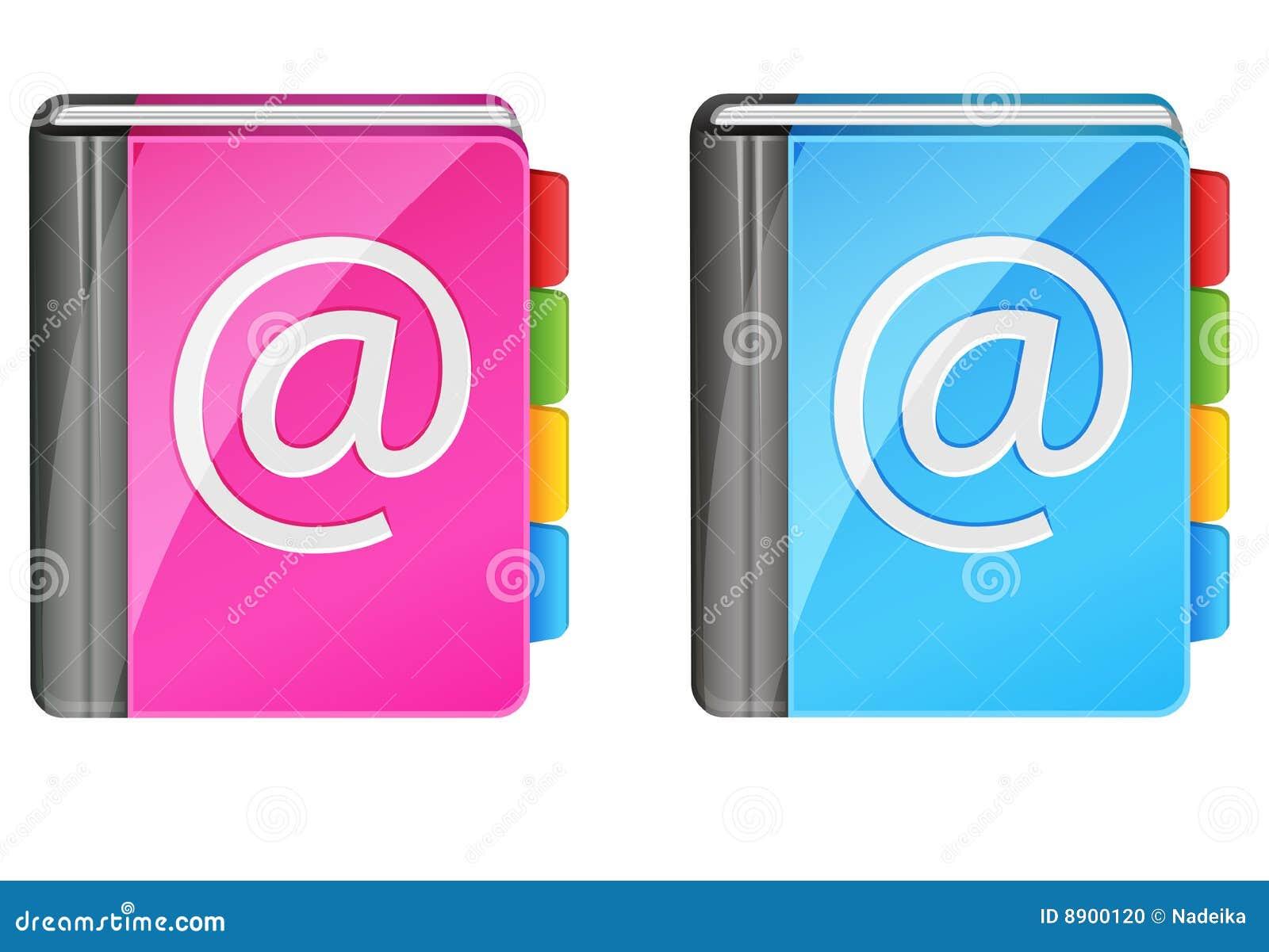 Livros de endereço