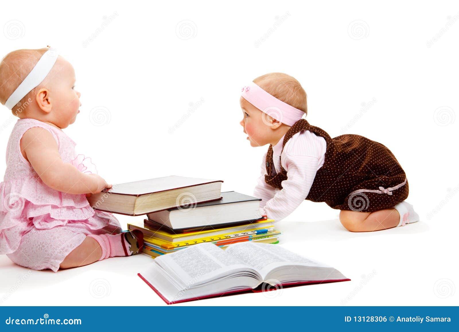 Livros de leitura das meninas