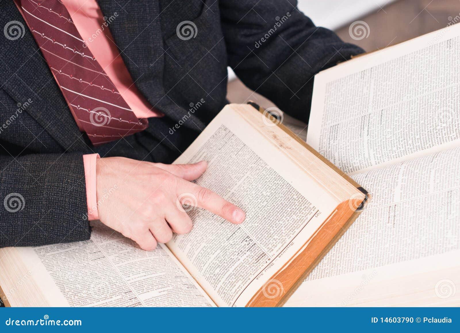 Livros de leitura do homem de negócio