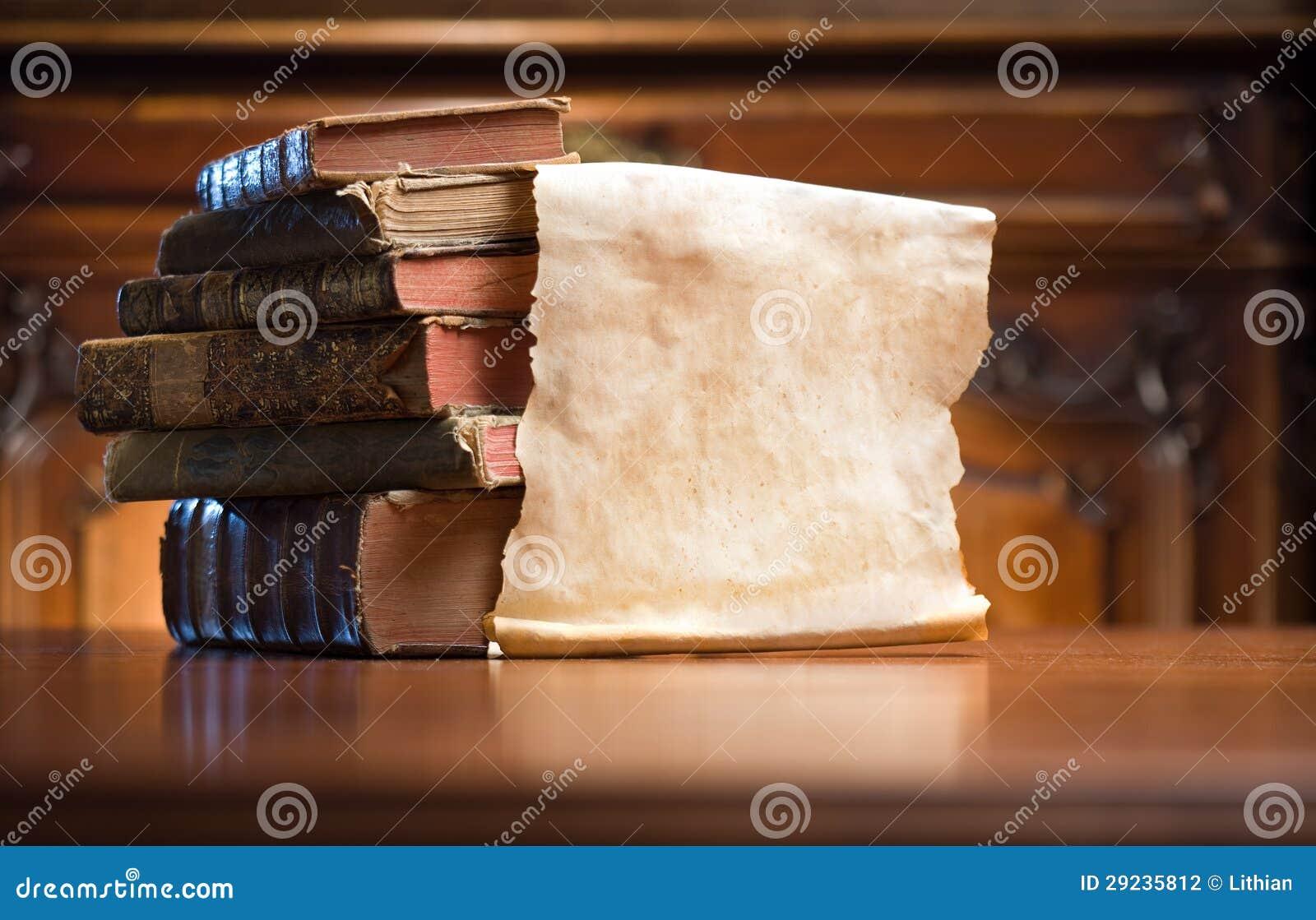 Download Livros do mistério. foto de stock. Imagem de biblioteca - 29235812