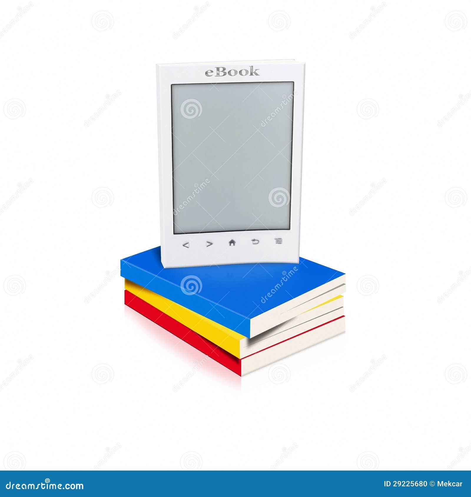 Download Livros e eBook ilustração stock. Ilustração de justaposição - 29225680