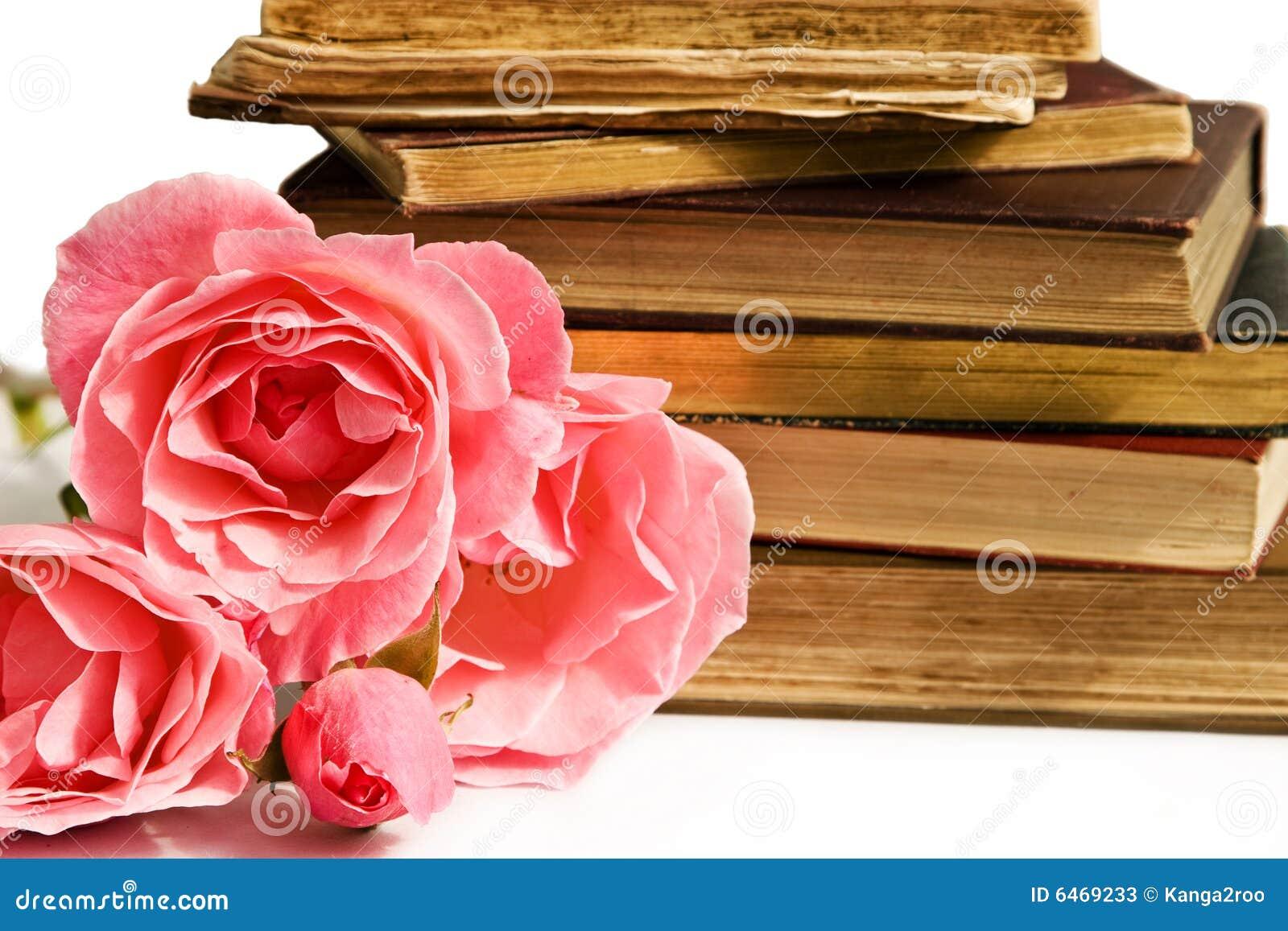 Livros e rosas