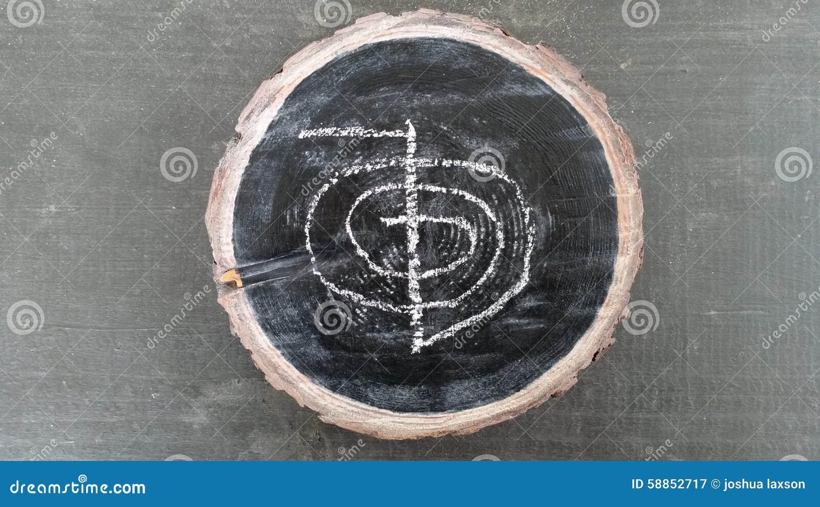 Livstid för kien för energikraft betyder gjord japansk upp universalen för reireikisymbol två som word ord