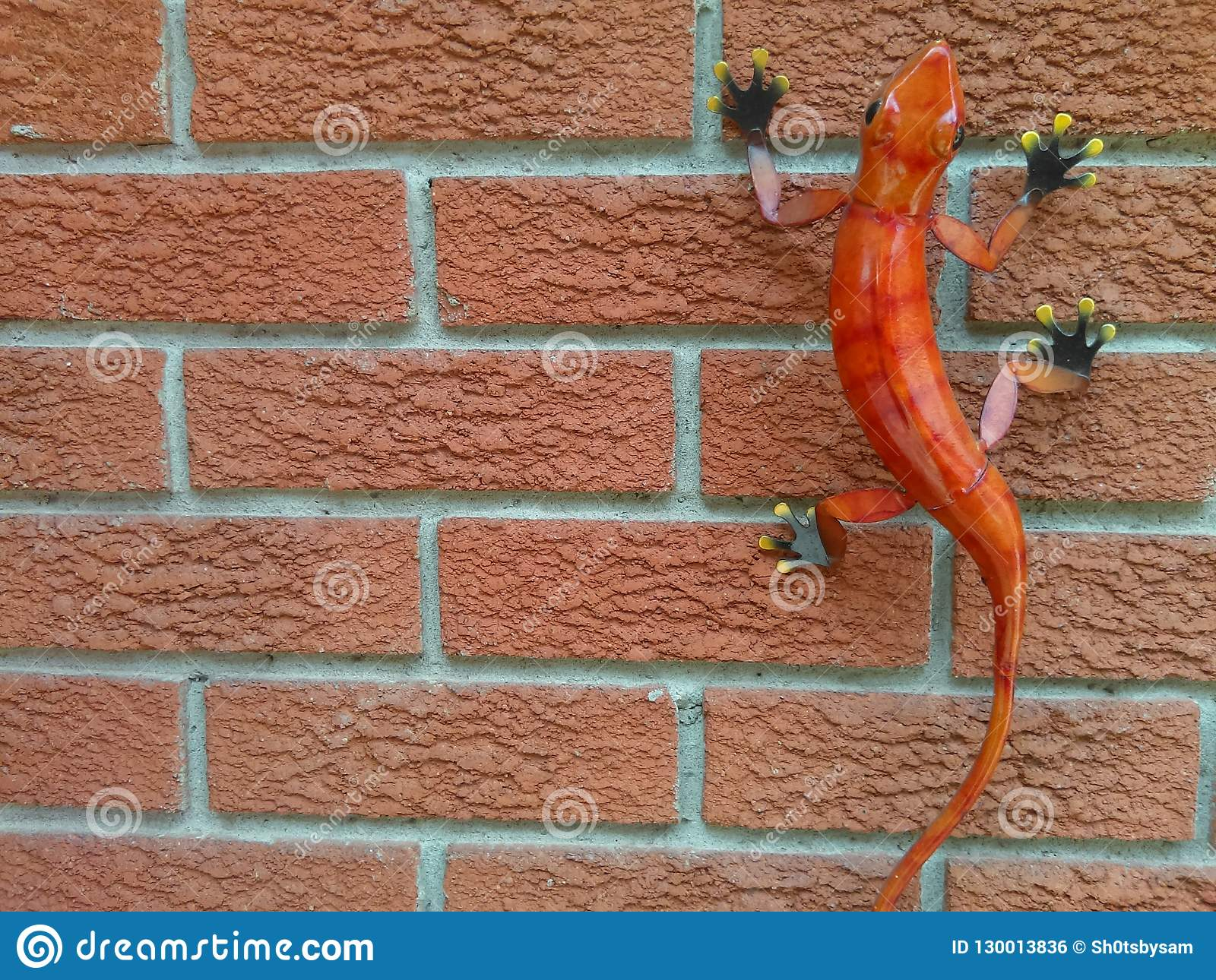 Lizard Outdoor Decor Stock Photo Image Of Decor Decoration 130013836