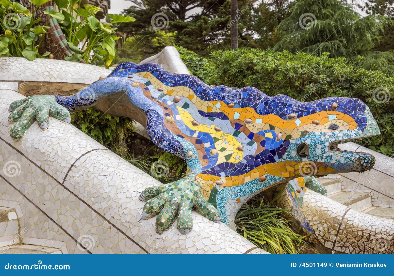 Lizard of Gaudi