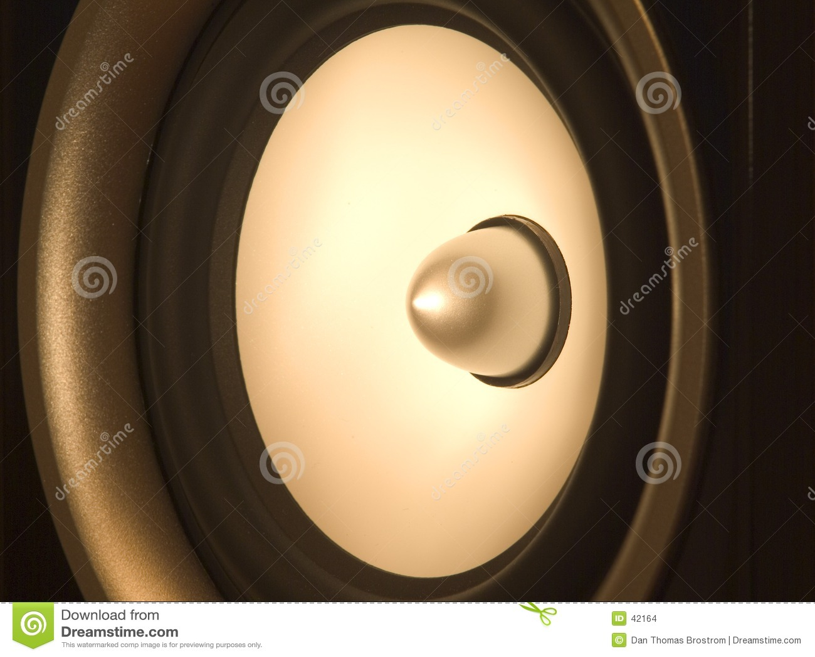 Ljudsignal högtalare