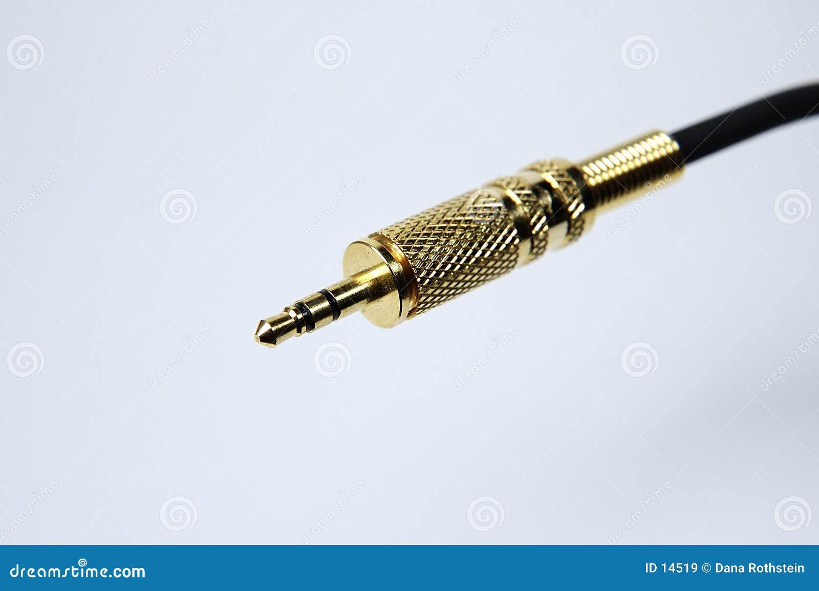 Ljudsignal kabel