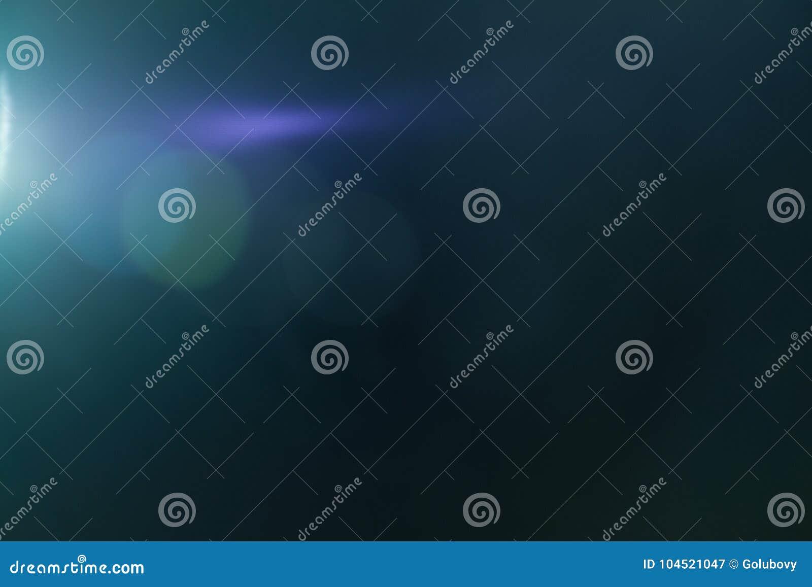 Ljus effekt för verklig Lens signalljus Ray läcka