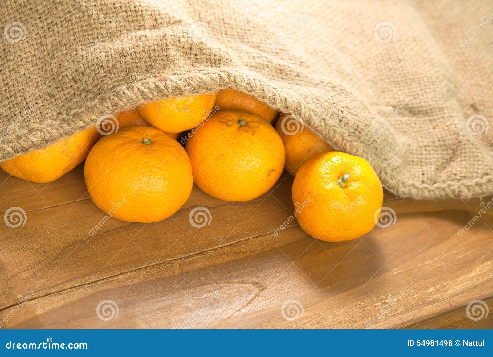 Ljus grupp av mandarinen