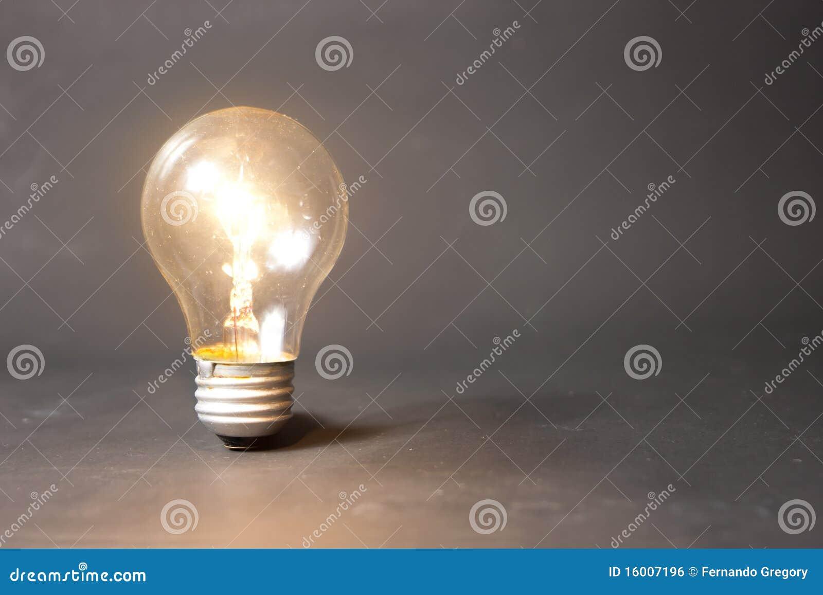 Ljus lampa för kulabegreppsidé