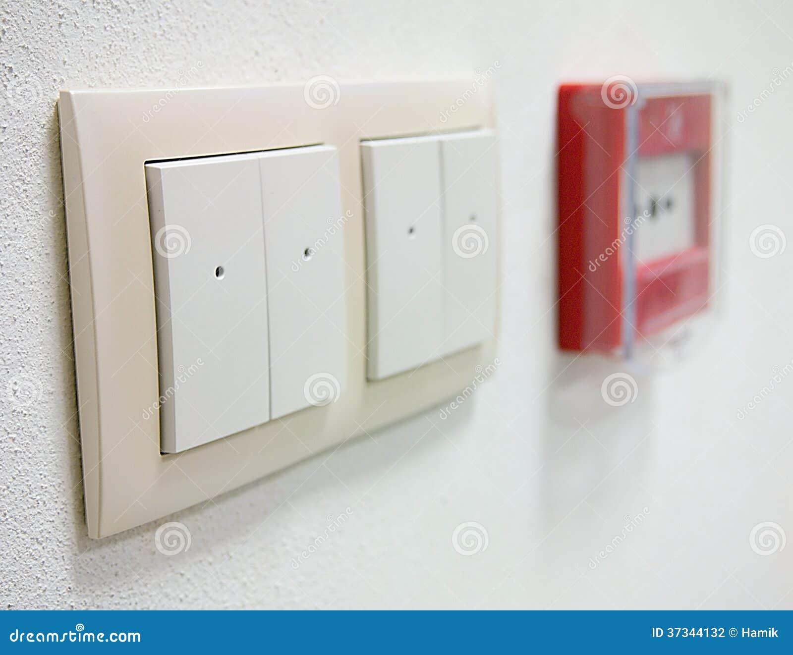 Ljus strömbrytare