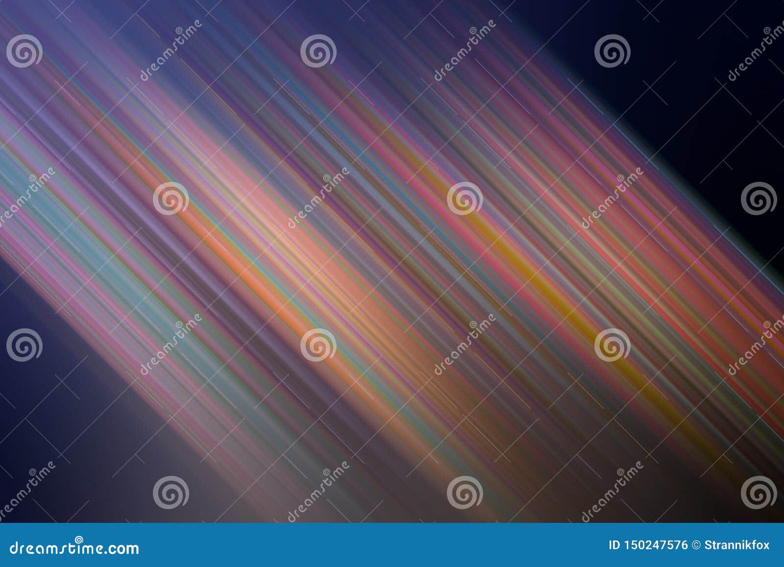 Ljusa kulöra suddiga penseldrag som mångfärgade exponeringar för en abstrakt bakgrund