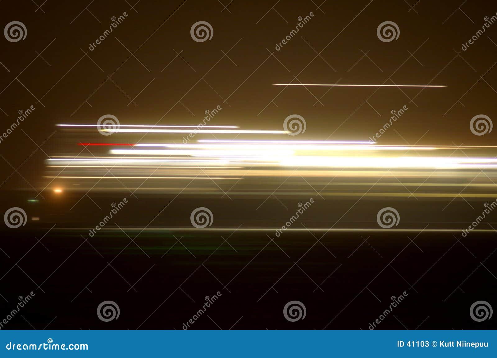 Ljusa strimmor
