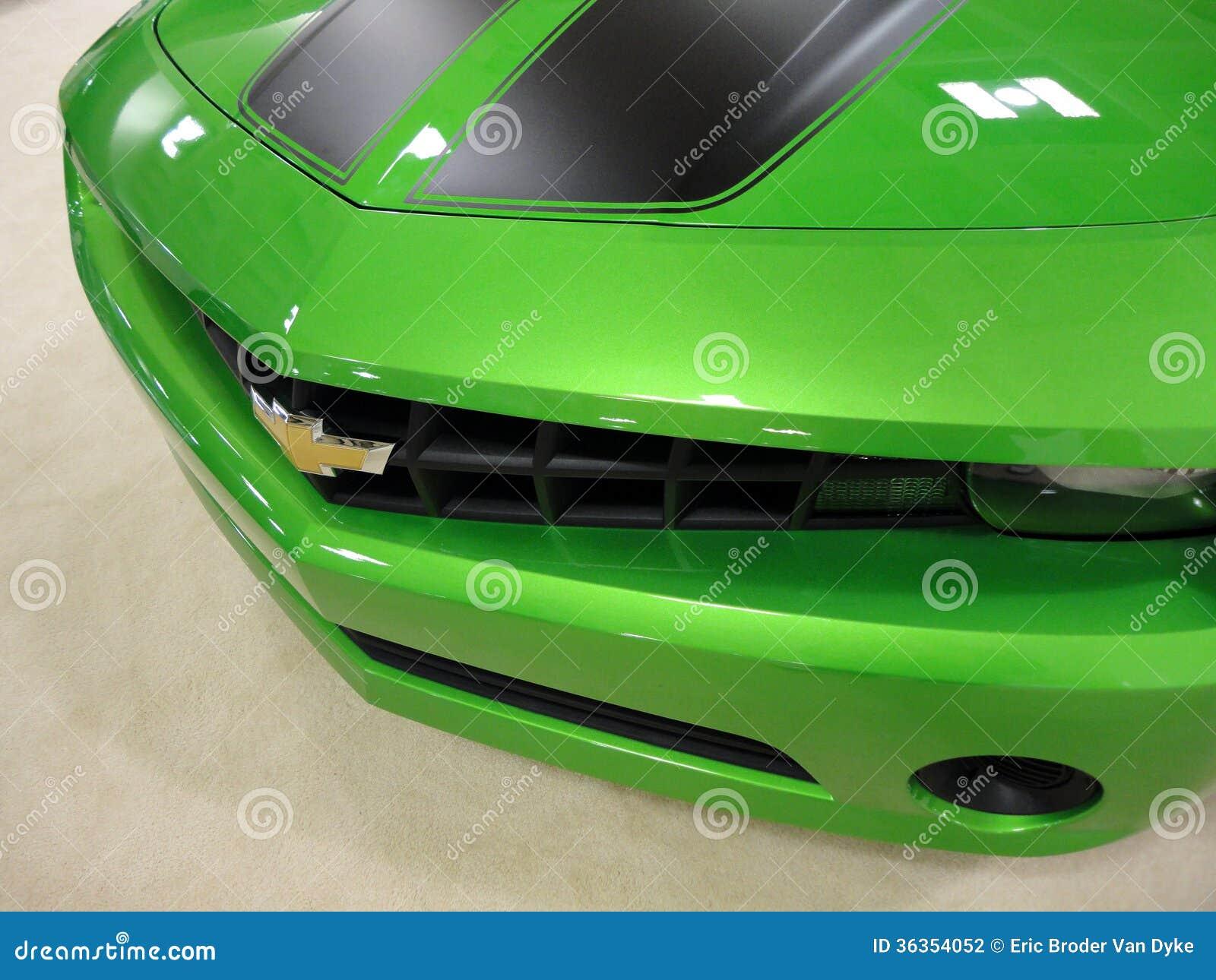 Ljust - gröna Chevy Camero Car Hood
