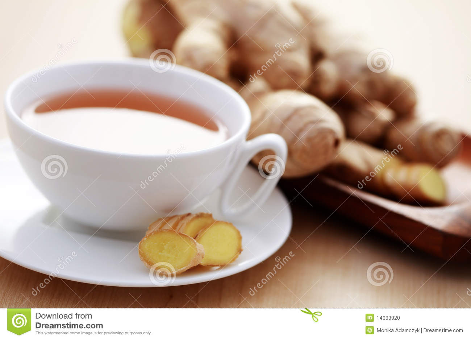 Ljust rödbrun tea
