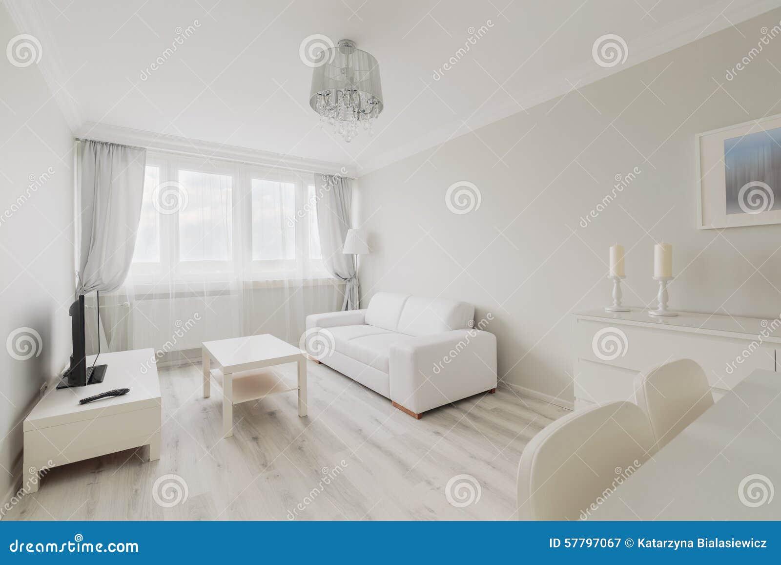 Mysig ljus vardagsrum arkivfoto   bild: 57797053