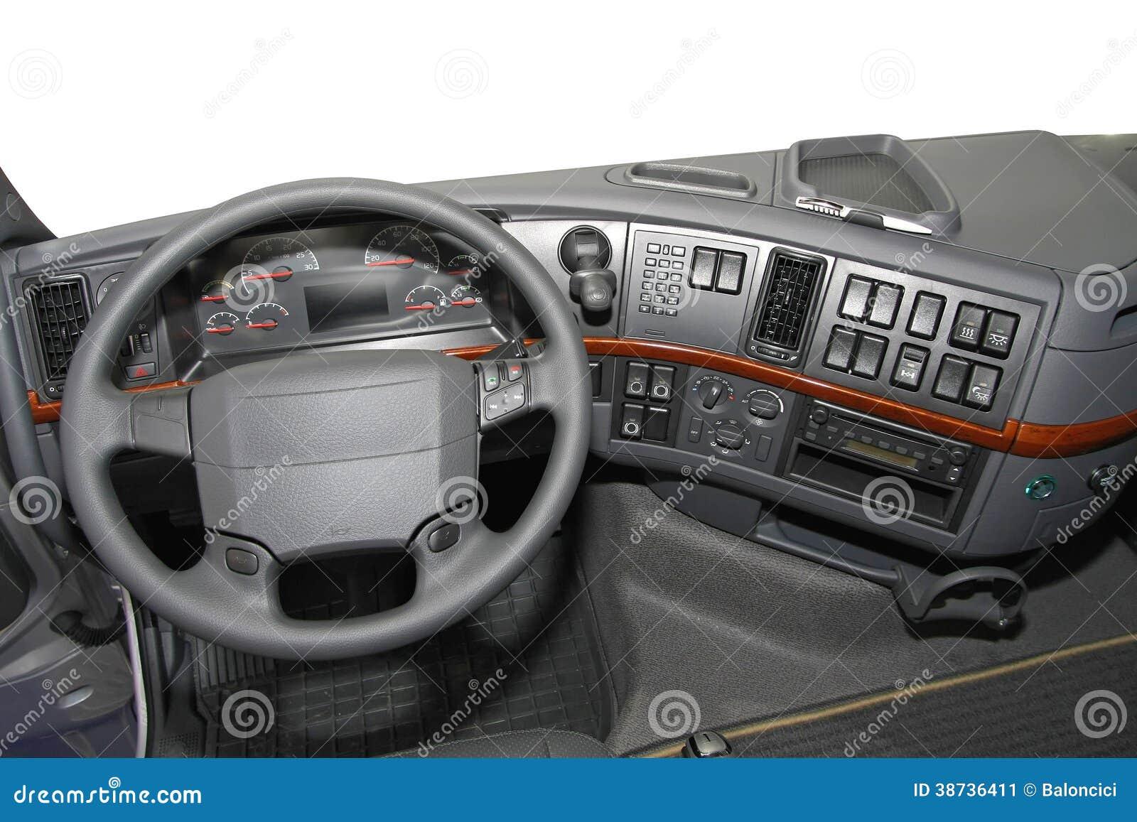 LKW-Armaturenbrett Stockbild - Bild: 38736411 | {Armaturenbrett 80}