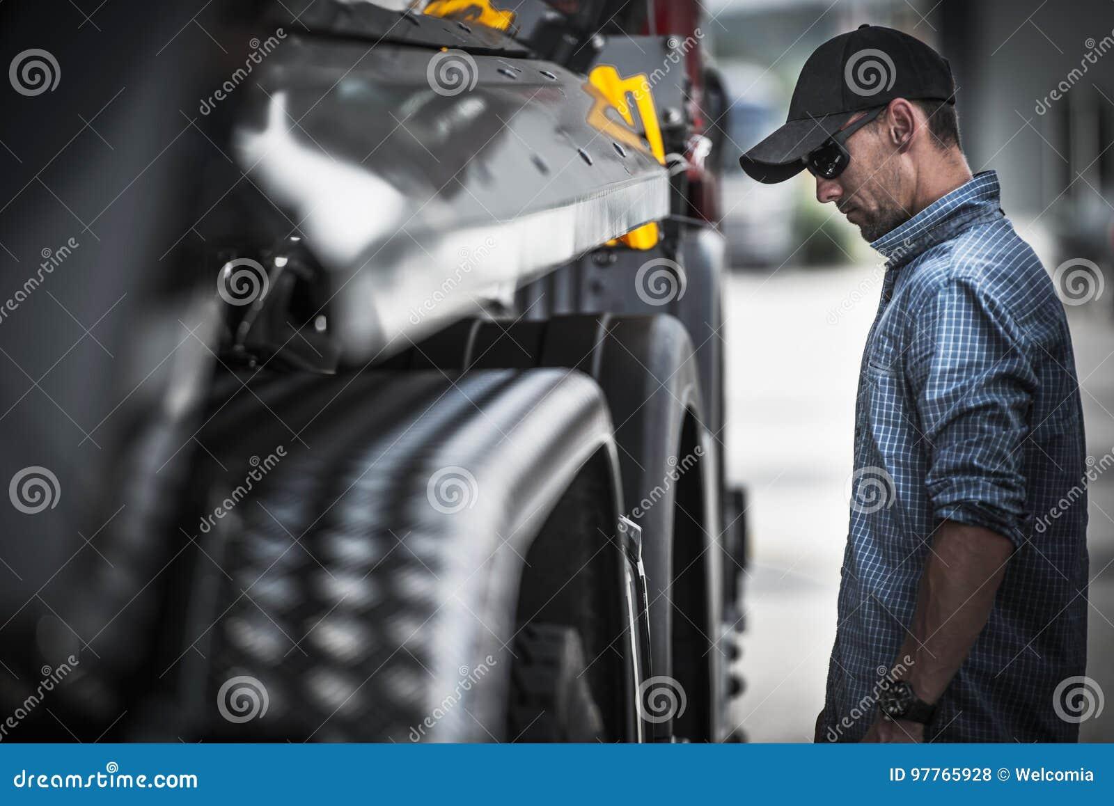 LKW-Fahrer Load Check