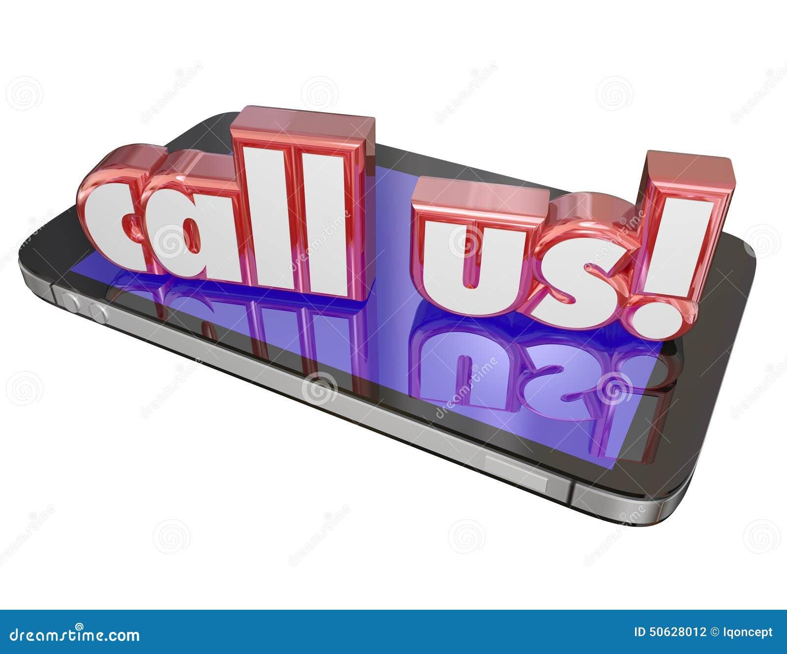 Llámenos multitud de la célula de la orden del soporte técnico del servicio de atención al cliente del contacto ahora