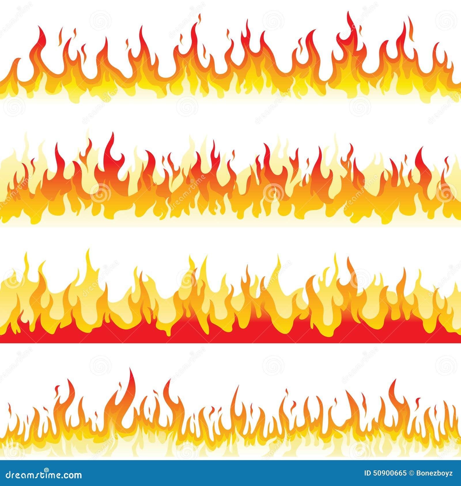 Llama inconsútil del fuego