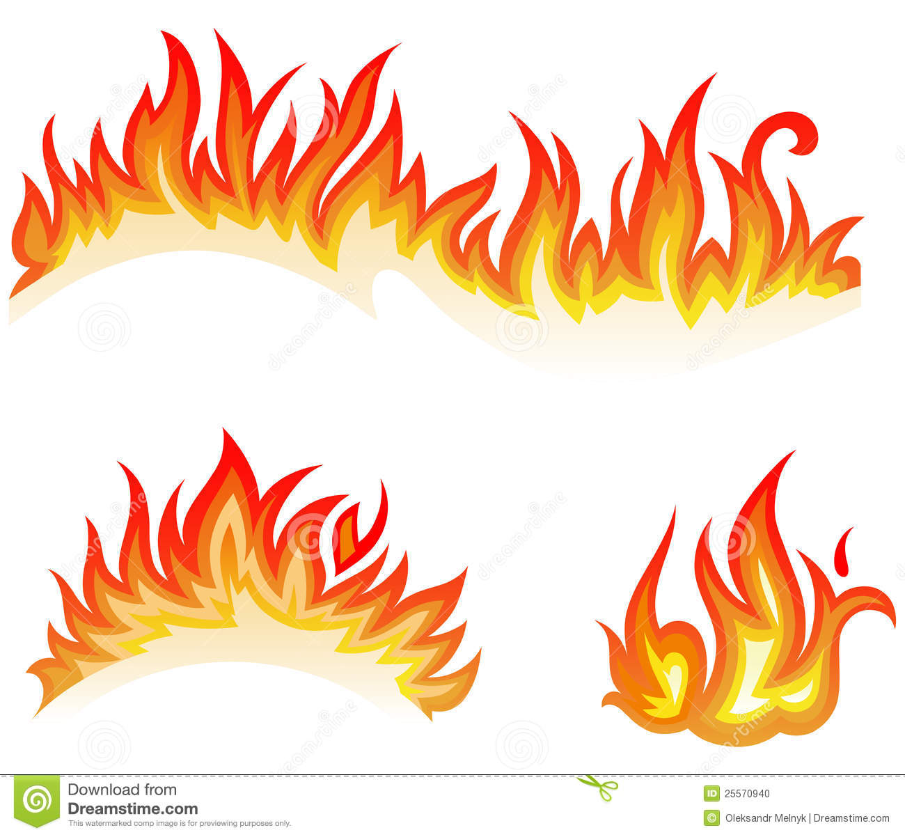 llamas del fuego collage ilustraci u00f3n del vector clip art of flames on grills clipart of flames for rocket