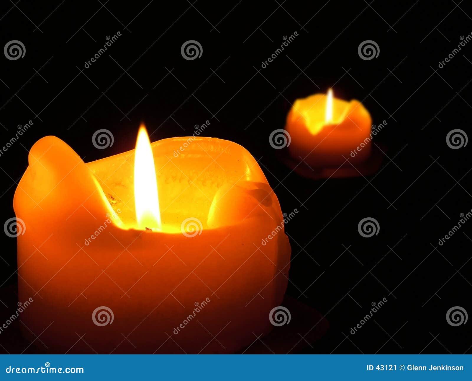 Download Llamas gemelas imagen de archivo. Imagen de flama, rojo - 43121
