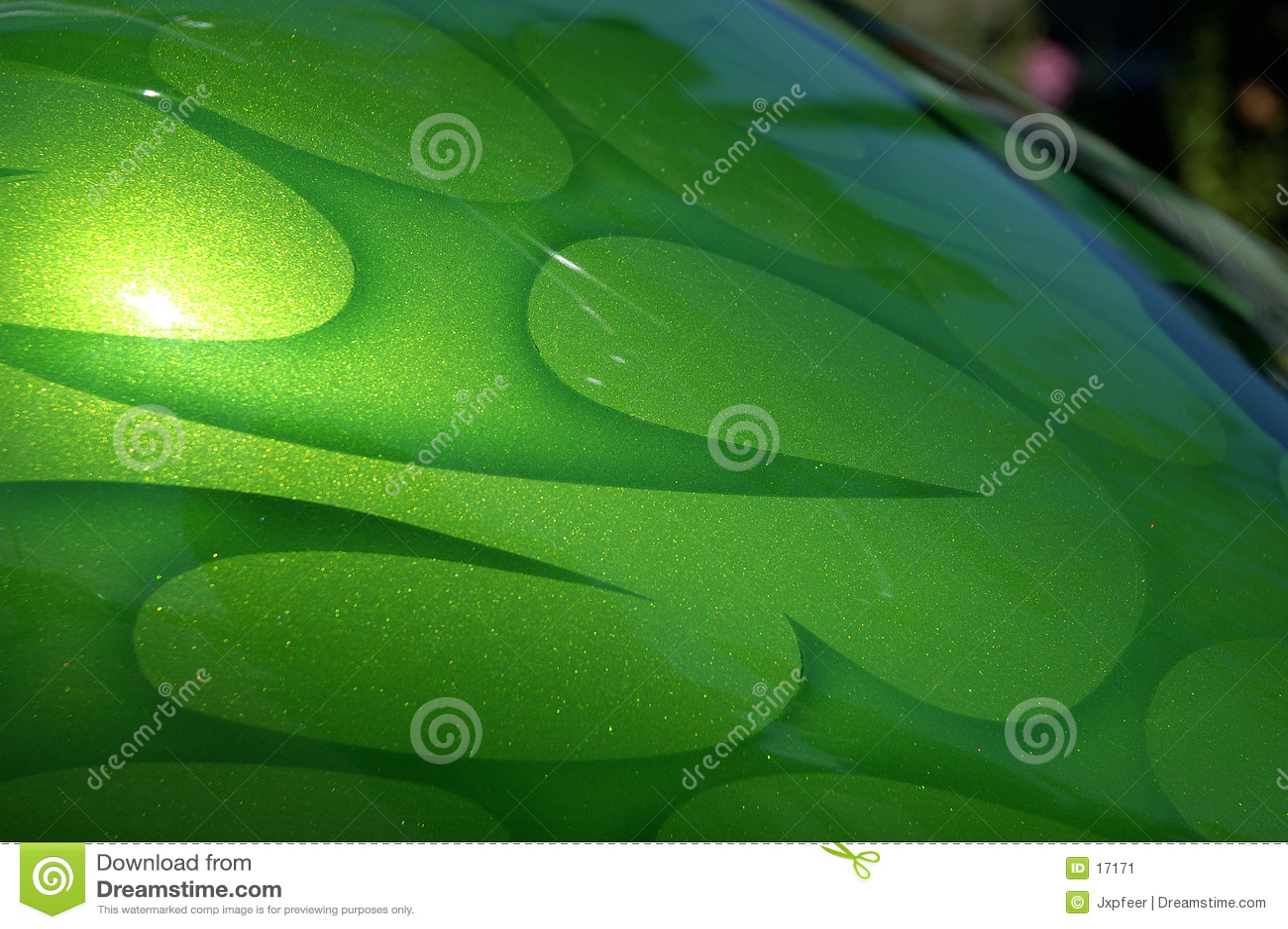 Llamas verdes