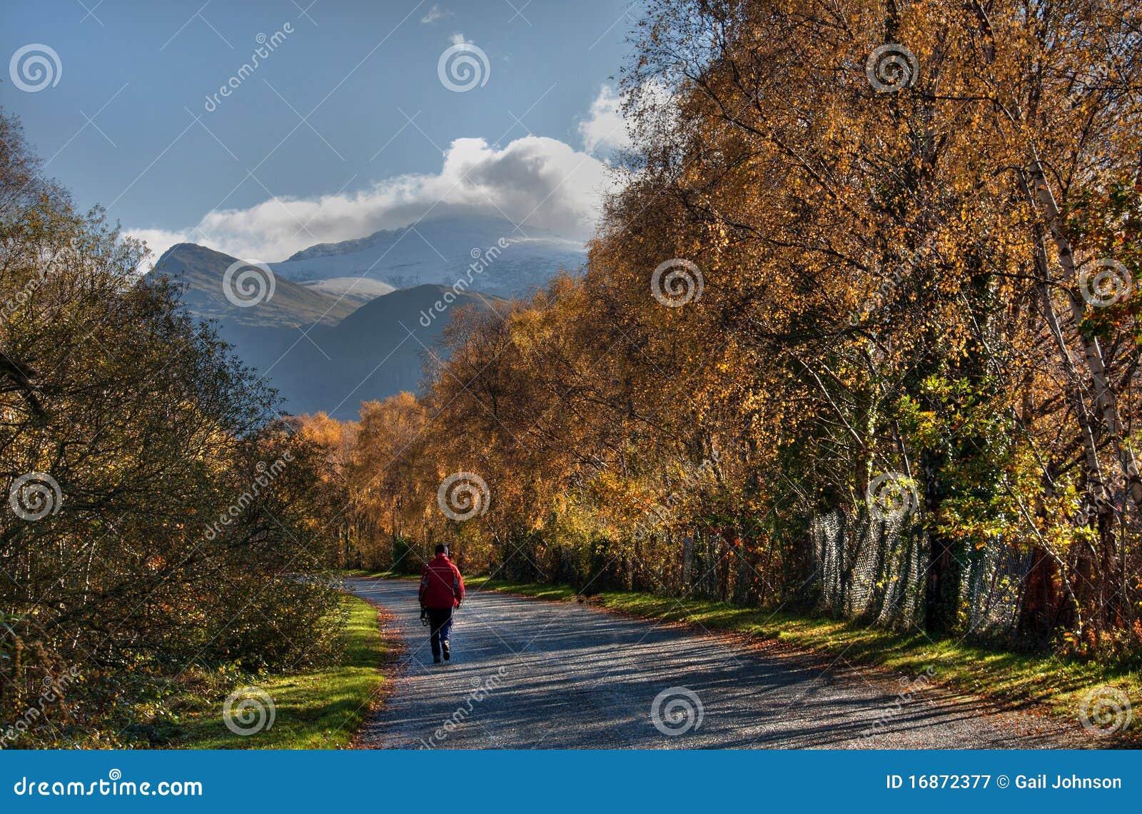 Llanberis no outono
