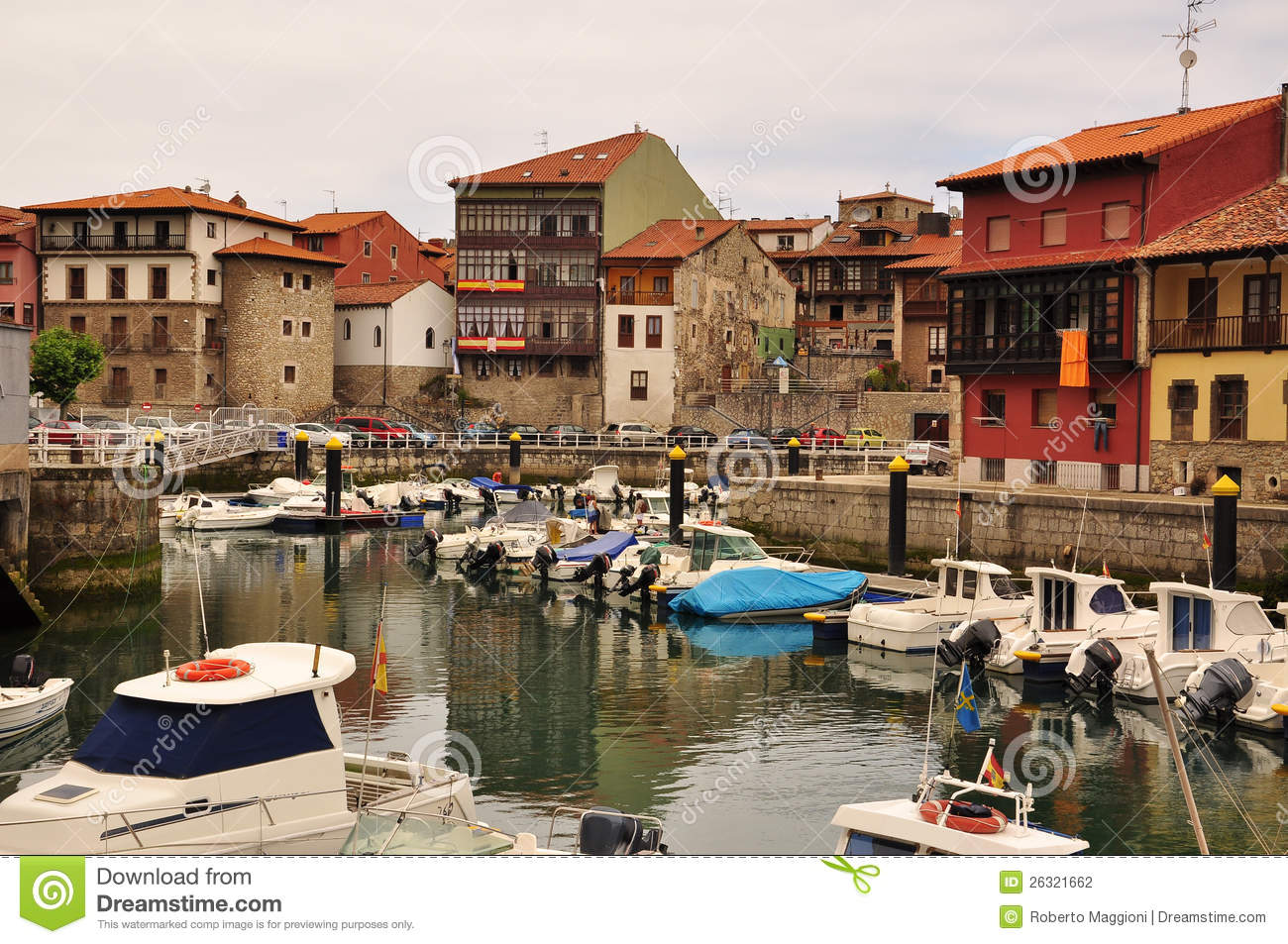 Llanes Asturias Spain Marina Stock Photo Image 26321662