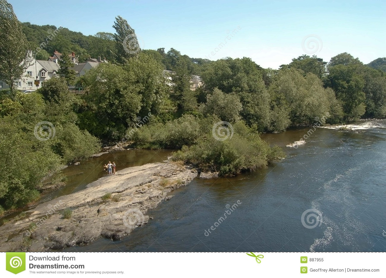 Llangollen rzekę