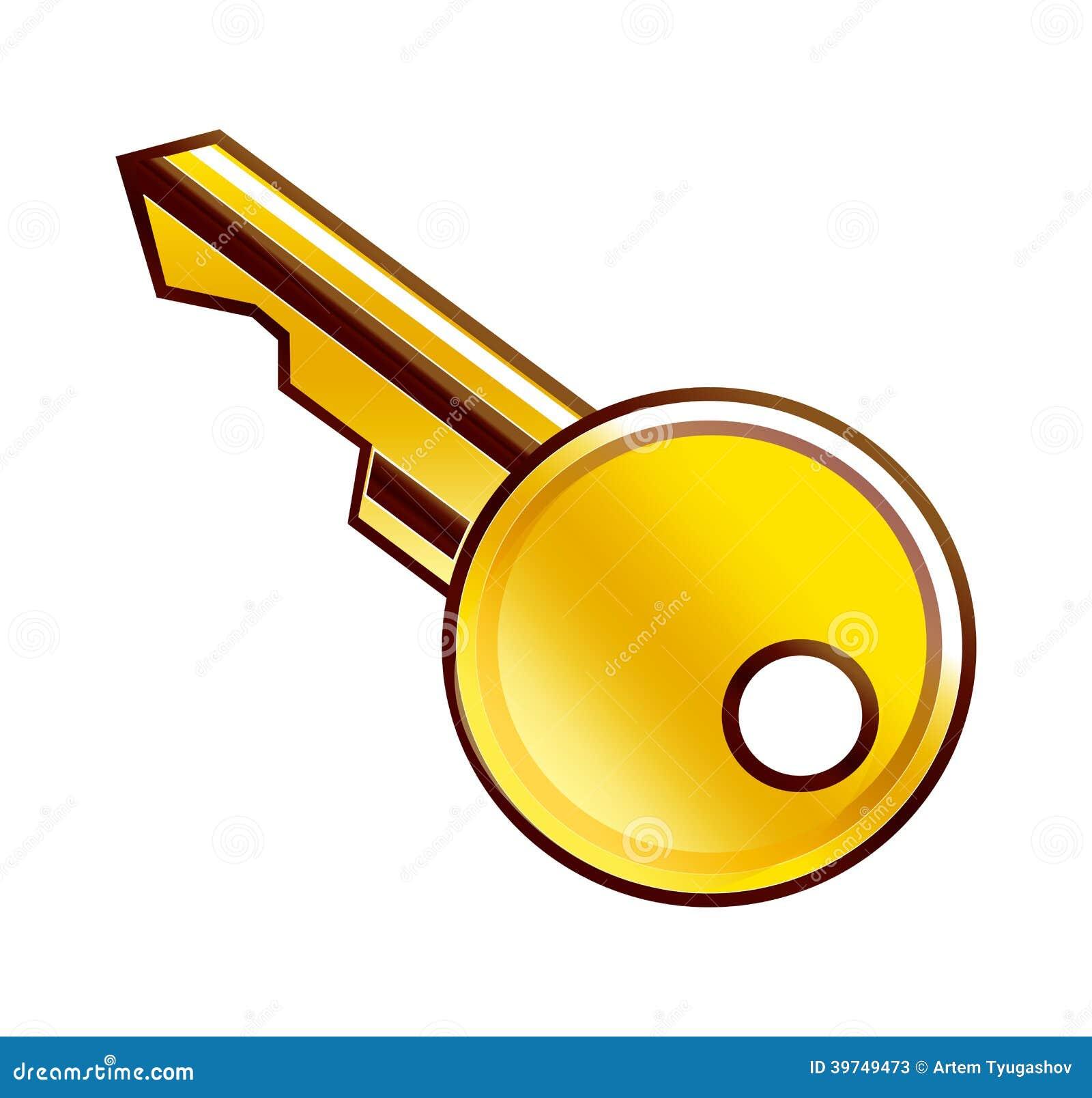 Llave de oro ilustraci n del vector imagen 39749473 - La llave del hogar ...