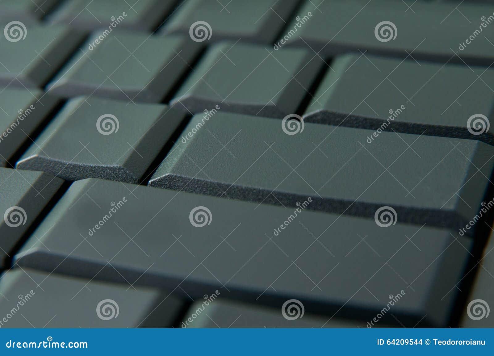 Llaves de teclado vacías