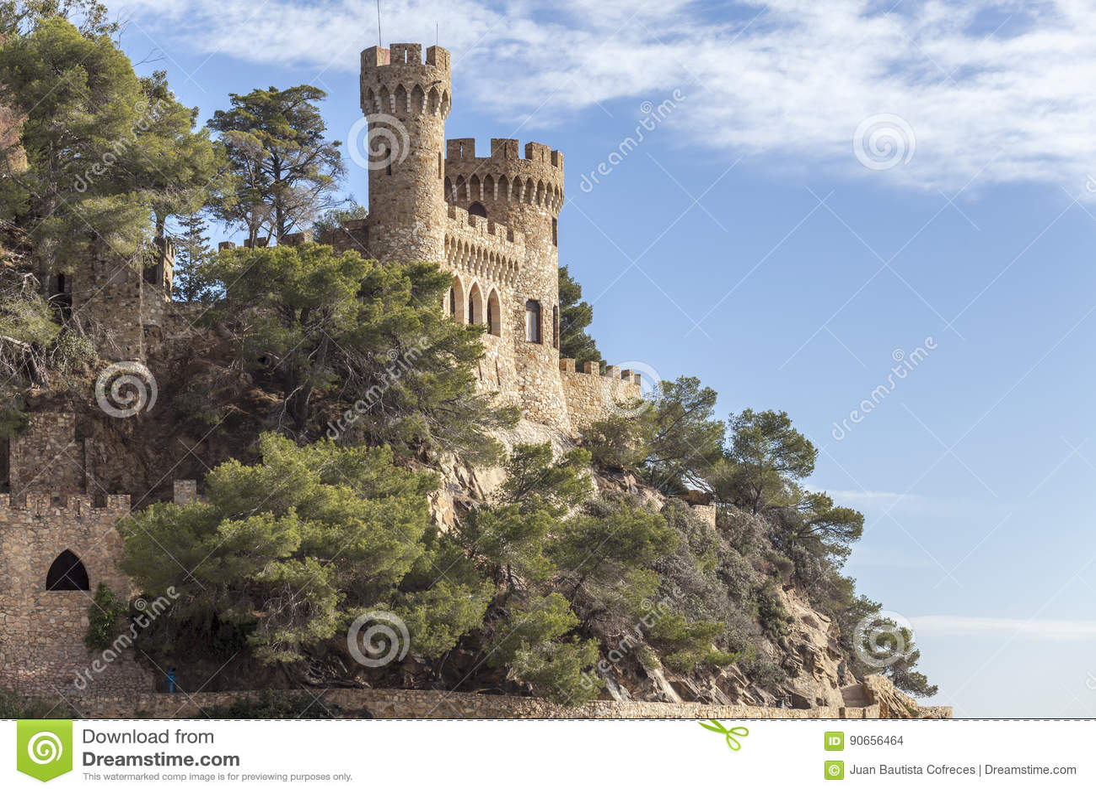 Lloret de Mar Catalonia, Spanien