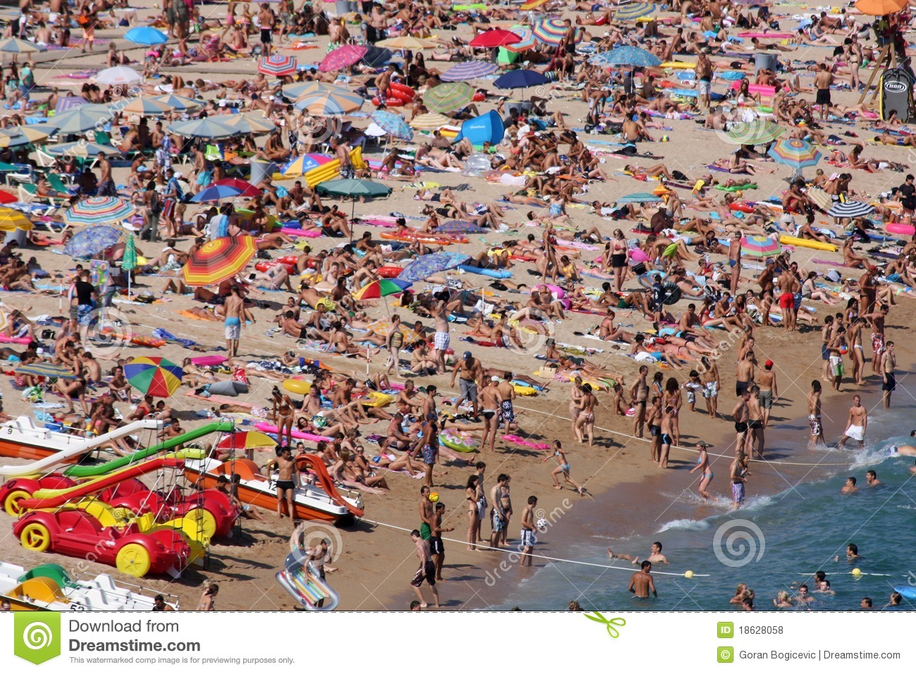 Lloret De Mar, Spain Editorial Stock Photo - Image: 18628058