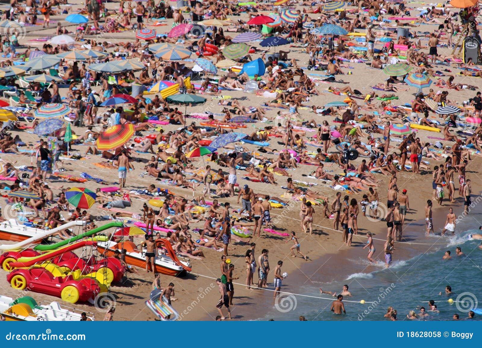 Lloret De Mar, Spain Editorial Stock Photo - Image: 18628058