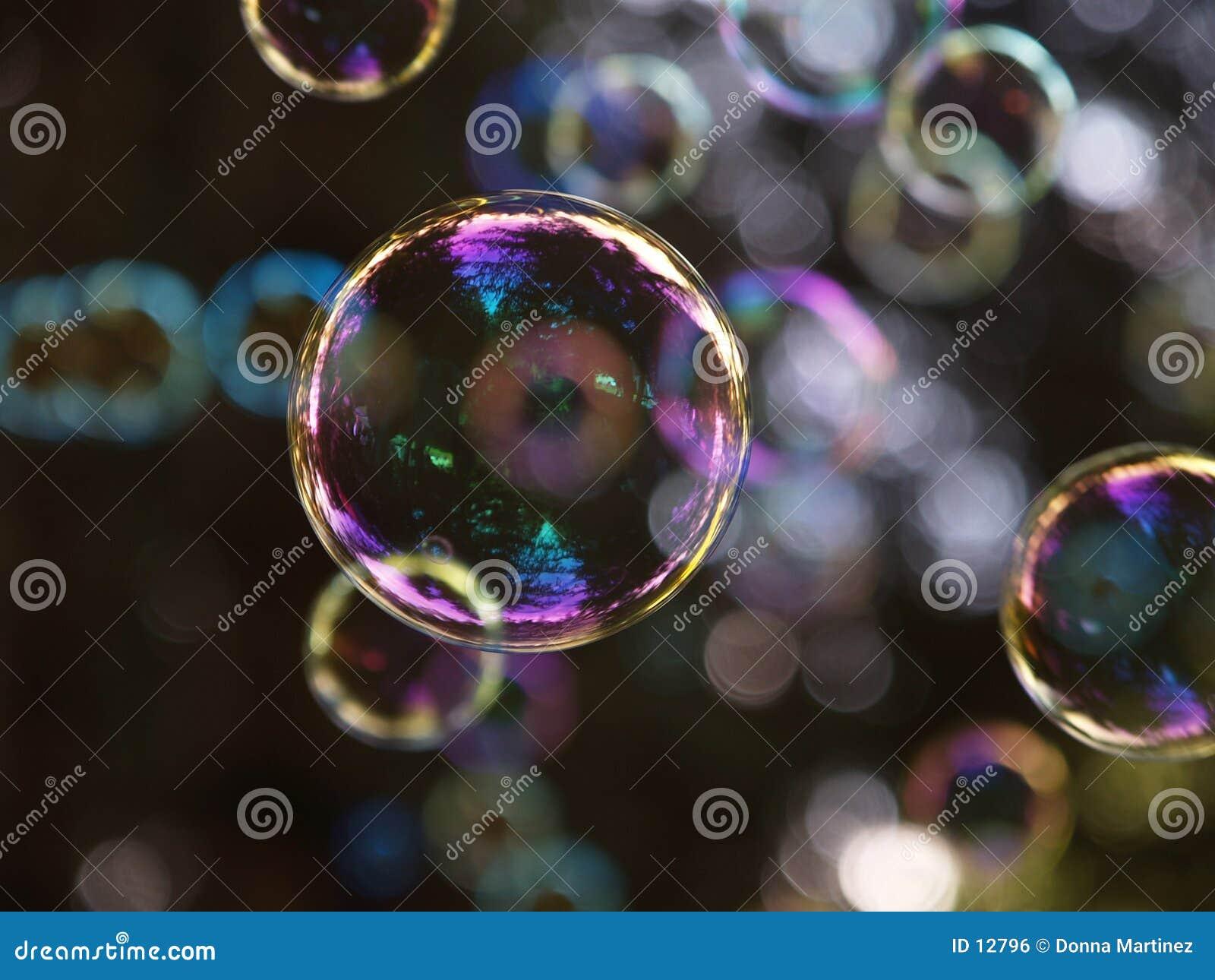 Llover burbujas