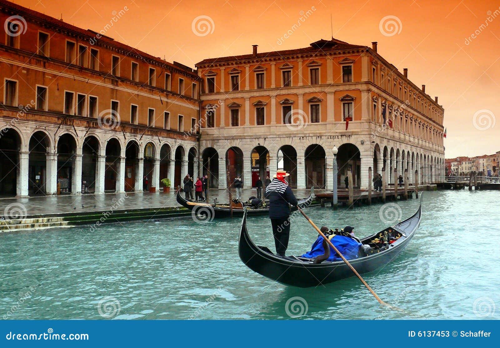 Lluvia en Venecia