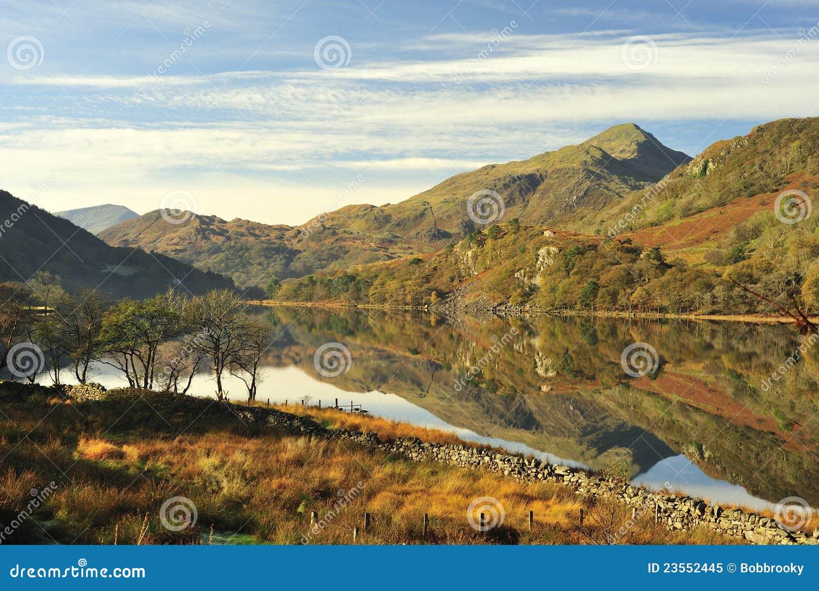Llyn Gynant, Snowdonia, Pays de Galles