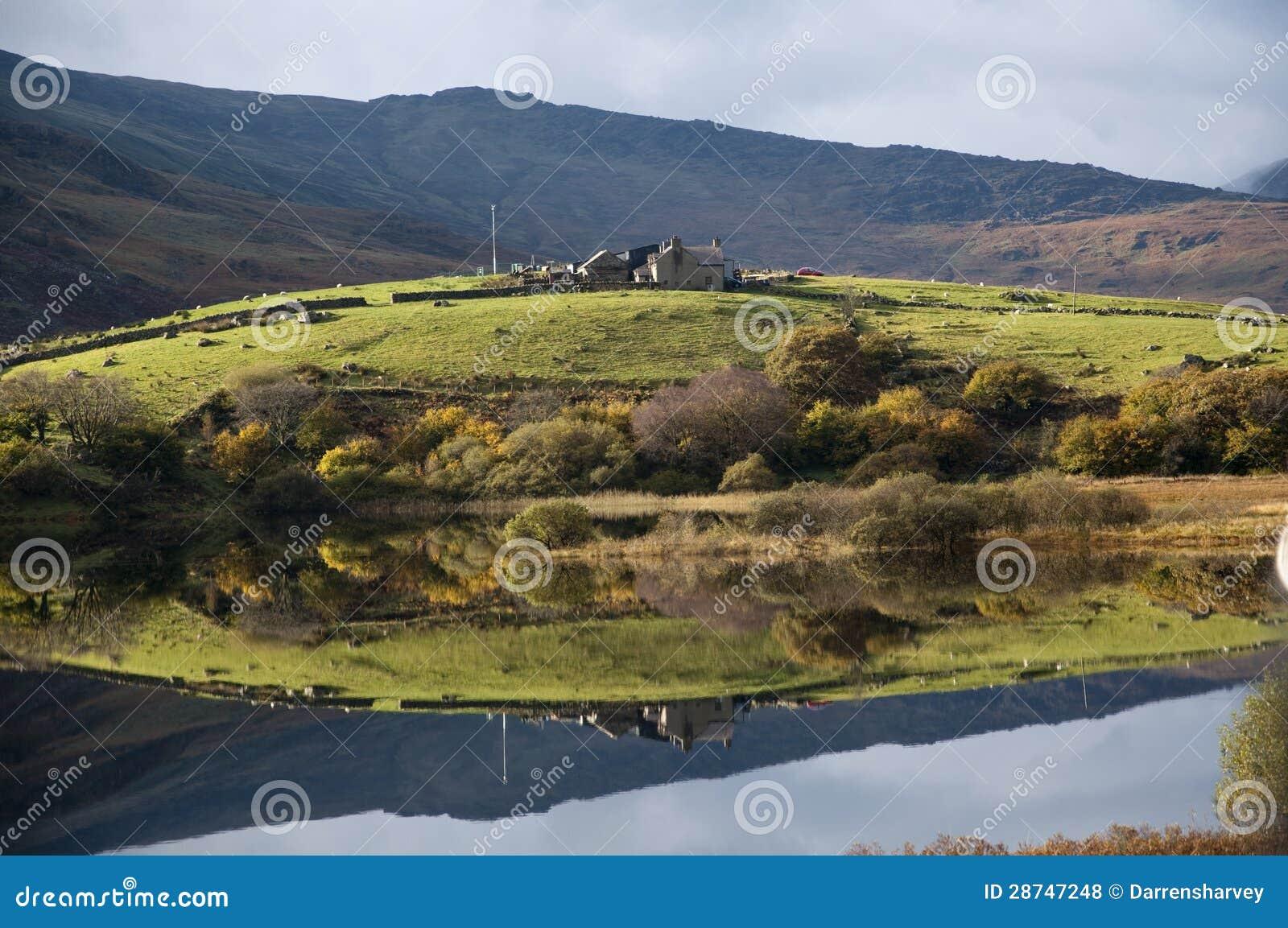 Llynnau Mymbyr - Lakes in Snowdonia