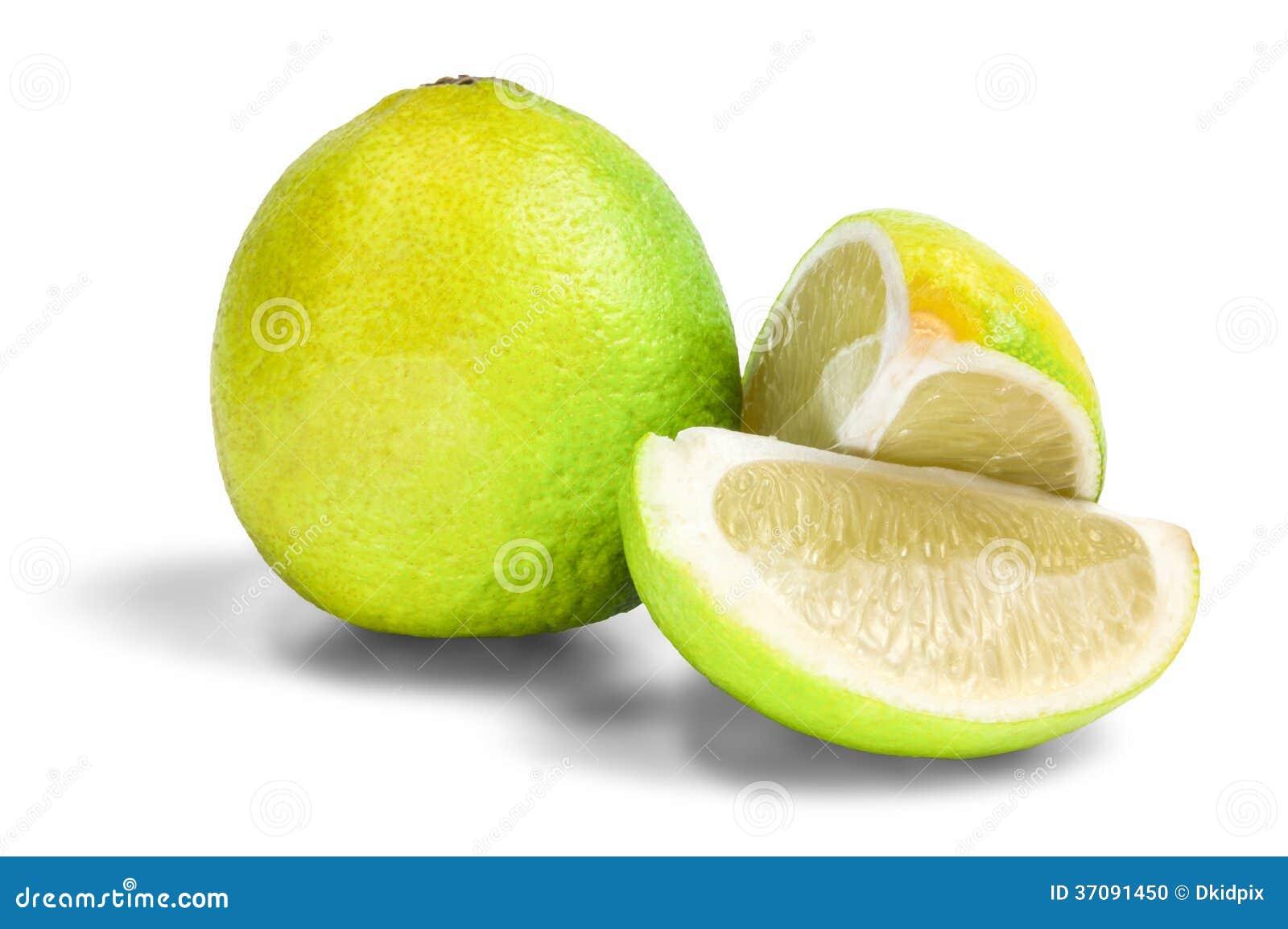 Download Lme owoc zdjęcie stock. Obraz złożonej z liść, halfback - 37091450