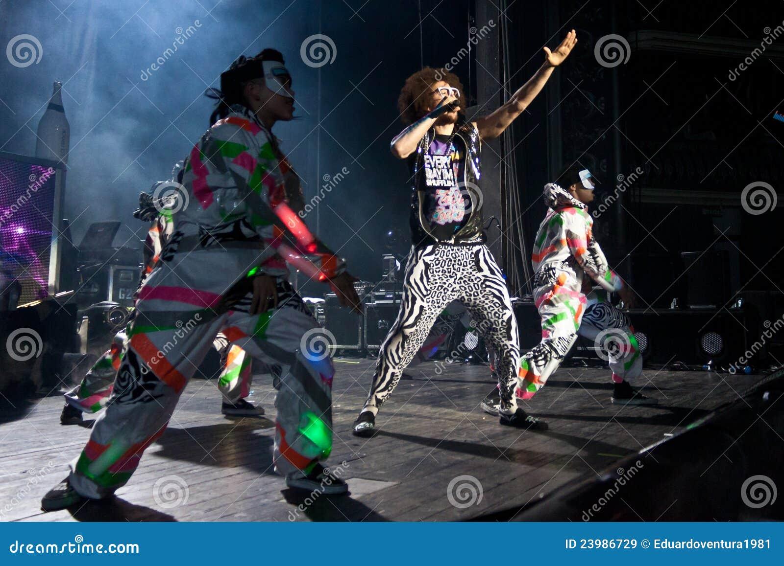 LMFAO Performing Live at Coliseu de Lisboa