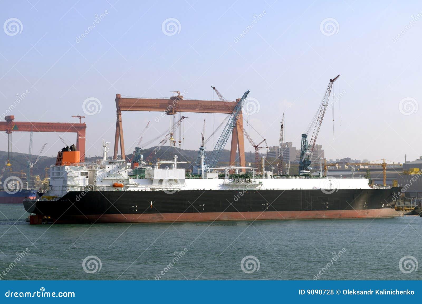 LNG-Trägerlieferung für natürlichen g