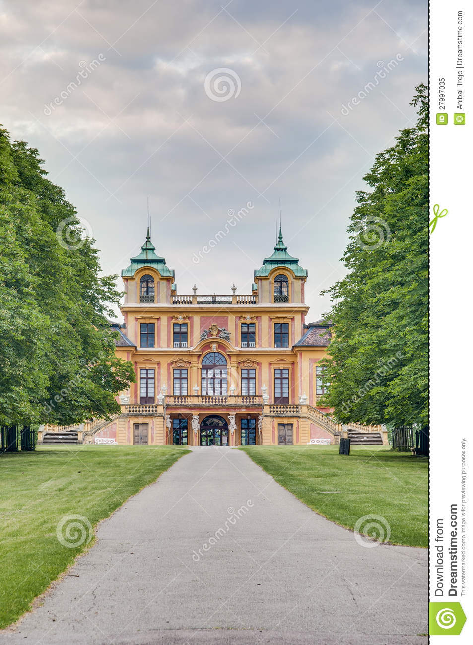 Lo Schloss favorito in Ludwigsburg, Germania