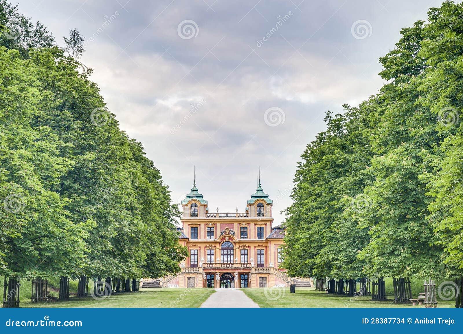 Lo Schloss favorito in Ludwigsburg, Germania